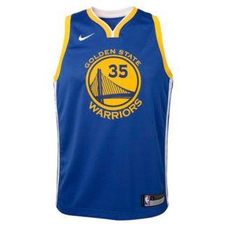 Golden State Warriors Nike NBA Icon Edition Swingman Jersey Kevin Durant Youth