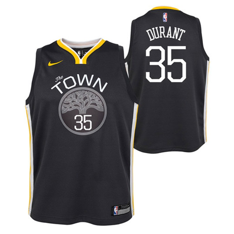 wholesale dealer cf633 d1718 Golden State Warriors Nike NBA Statement Edition Swingman Jersey Kevin  Durant Niño/a
