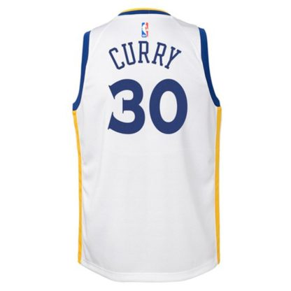 Golden State Warriors Nike NBA Association Edition Swingman Jersey Stephen Curry Youth