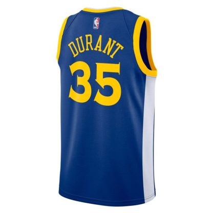 Golden State Warriors Nike NBA Connected Icon Edition Swingman Jersey Kevin Durant Adult