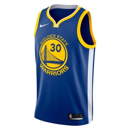 Golden State Warriors Nike NBA Connected Icon Edition Swingman Jersey Stephen Curry Adult