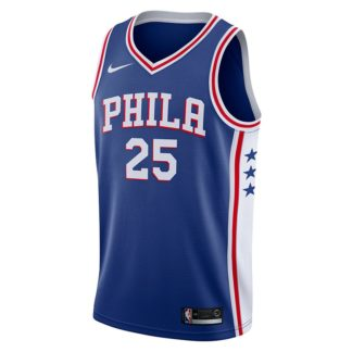 Philadelphia 76ers Nike NBA Connected Icon Edition Swingman Jersey Ben Simmons Adult