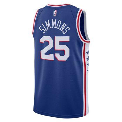 Philadelphia 76ers Nike NBA Connected Icon Edition Swingman Jersey Ben Simmons Adult