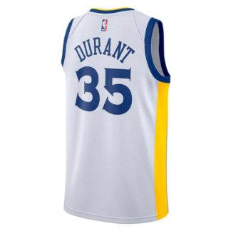 Golden State Warriors Nike NBA Connected Association Edition Swingman Jersey Kevin Durant Adult