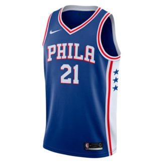 Philadelphia 76ers Nike NBA Connected Icon Edition Swingman Jersey Joel Embiid Adult