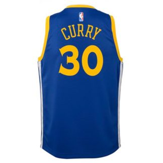 Golden State Warriors Nike NBA Icon Edition Swingman Jersey Stephen Curry Youth