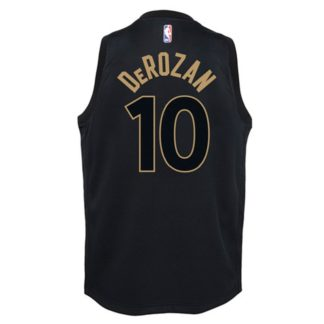 Toronto Raptors Nike NBA City EdItion Swingman DeMar DeRozan Youth