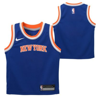 New York Knicks Nike Icon Edition Swingman Jersey Kristaps Porzingis Youth