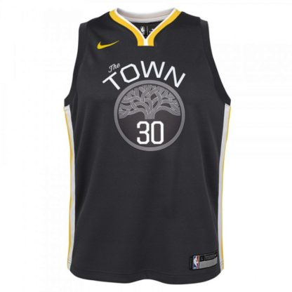 Golden State Warriors Nike NBA Statement Edition Swingman Jersey Stephen Curry Youth