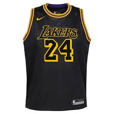 Nike NBA Los Angeles Lakers Mamba Edition Swingman Jersey Kobe Bryant Youth
