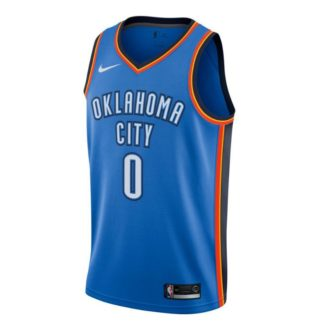 Oklahoma City Thunder Nike NBA Connected Icon Edition Swingman Jers Russell Westbrook Adult