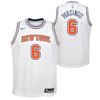 New York Knicks Nike NBA Statement Edition Swingman Jersey Kristaps Porzingis Youth