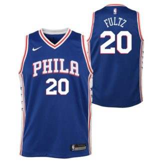 Philadelphia 76ers Nike NBA Icon Edition Swingman Jersey Markelle Fultz Youth