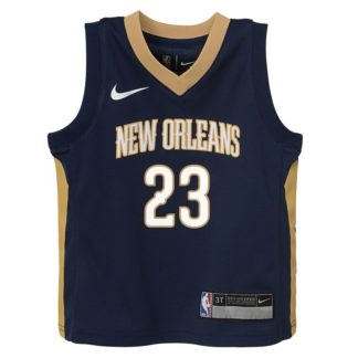 New Orleans Pelicans Nike NBA Icon Edition Swingman Jersey Anthony Davis Youth