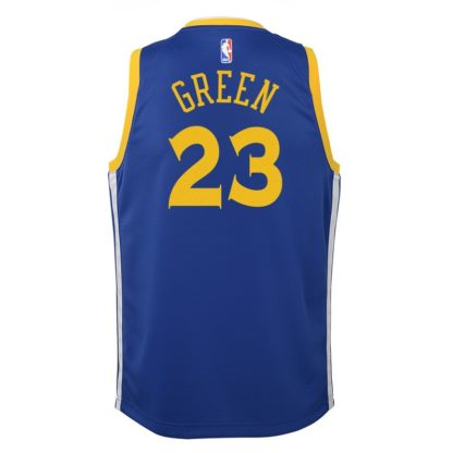 Golden State Warriors Nike NBA Icon Edition Swingman Jersey Draymond Green Youth