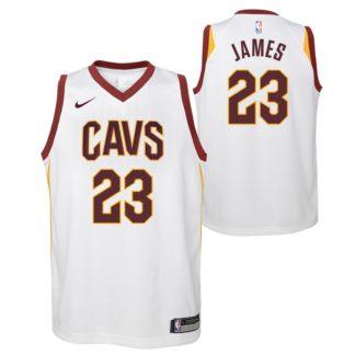 Cleveland Cavaliers Nike NBA Association Edition Swingman Jersey LeBron James Youth