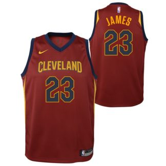 Cleveland Cavaliers Nike NBA Icon Edition Swingman Jersey LeBron James Youth
