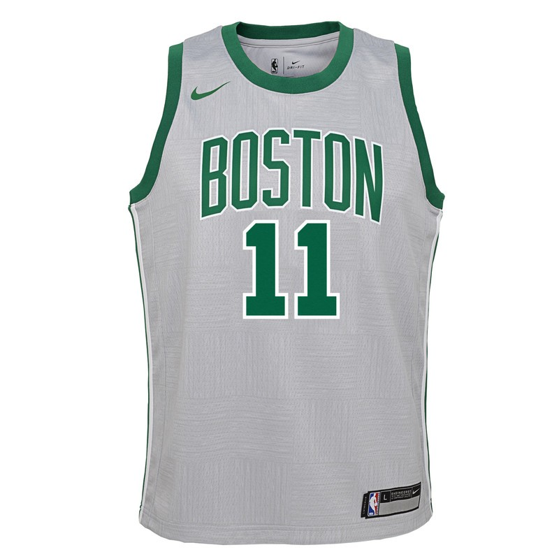 a9aec8761 Camiseta Nike NBA para adolescente Swingman Boston Celtics Kyrie Irving.