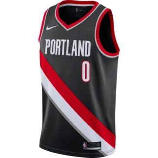 Portland Trail Blazers Nike NBA Connected Icon Edition Swingman Jersey Damian Lillard Adult