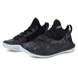 UA Curry 5 Black Multi-color