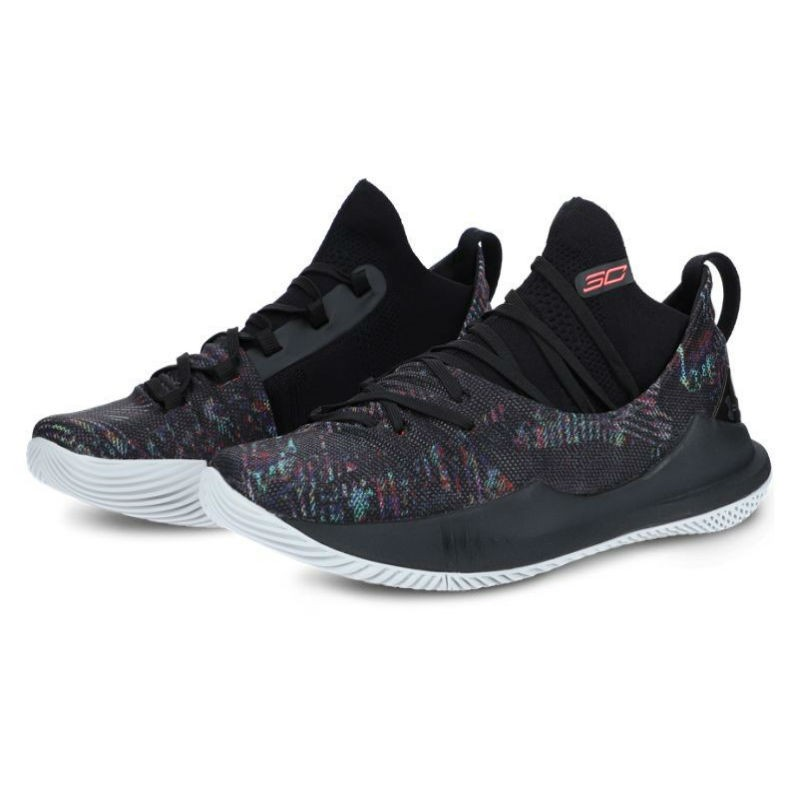 3e0509c7b2fdf Under Armour Curry 5 Black Multi-color Zapatillas de Baloncesto