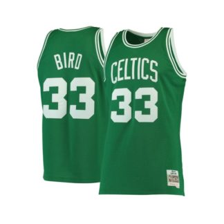 Boston Celtics Mitchell & Ness Larry Bird HWC Swingman Jersey 85-86