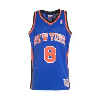 New York Knicks Latrell Sprewell Mitchell & Ness Home Swingman Jersey 98-99