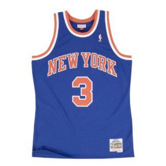 New York Knicks John Starks Mitchell & Ness Home Swingman Jersey 91-92