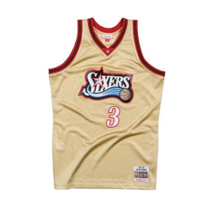 Philadelphia 76ers Allen Iverson HWC Swingman Jersey 97-98