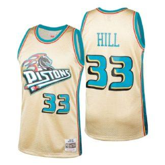 Detroit Pistons Grant Hill HWC Swingman Jersey 98-99