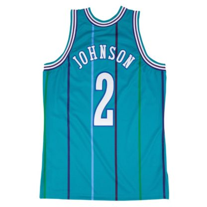 Charlotte Hornets Mitchell & Ness Larry Johnson HWC Swingman Jersey 92-93