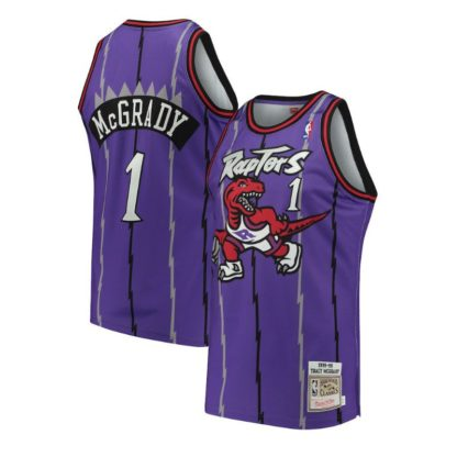 Toronto Rators Tracy McGrady Mitchell & Ness Home Swingman Jersey 98-99