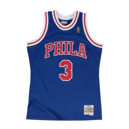 Philadelphia 76ers Allen Iverson Mitchell & Ness Home Swingman Jersey 96-97