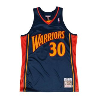 Golden State Warriors Mitchell & Ness Stephen Curry HWC Swingman Jersey 09-10