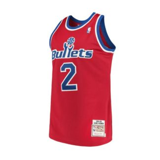 Washington Bullets Chris Webber Mitchell & Ness Home Swingman Jersey 94-95