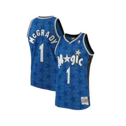 Orlando Magic Tracy McGrady Mitchell & Ness Home Swingman Jersey 00-01