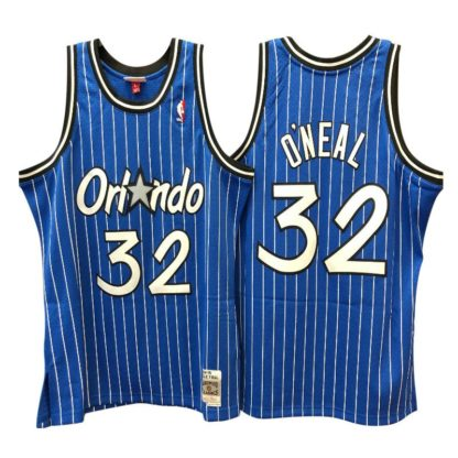 Orlando Magic Shaquille O'neal Mitchell & Ness Home Swingman Jersey 94-95