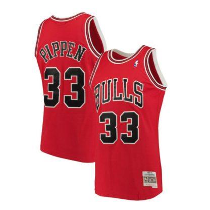 Chicago Bulls Mitchell & Ness Scottie Pippen HWC Swingman Jersey 97-98