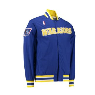 Chaqueta Mitchell & Ness Golden State Warriors Authentic Warm Up Jacket