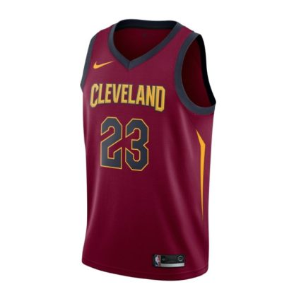 Cleveland Cavaliers Nike NBA Connected Icon Edition Swingman Jersey Lebron James Adult