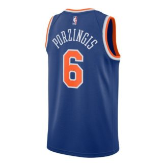 New York Knics Nike NBA Connected Icon Edition Swingman Jersey Kristaps Porzingis Adult