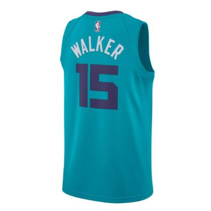 Charlotte Hornets Nike NBA Connected Icon Edition Swingman Jersey Kemba Walker Adult