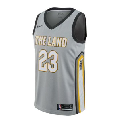 Cleveland Cavaliers Nike NBA All City Edition Swingman Jersey Lebron James Youth