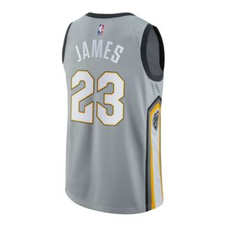 Cleveland Cavaliers Nike NBA All City Edition Swingman Jersey Lebron James Youth