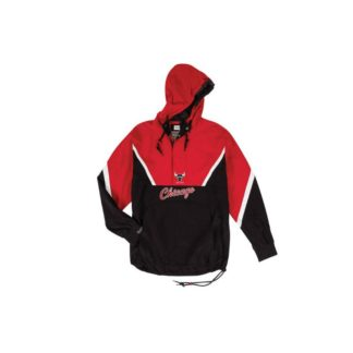 Chaqueta Mitchell & Ness Chicago Bulls Half Zip Anorak Jacket