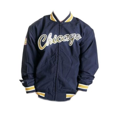 Chaqueta Mitchell & Ness Chicago Bulls Team History Warm Up Jacket