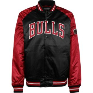 Chaqueta Mitchell & Ness Chicago Bulls Tough Season Satin Jacket