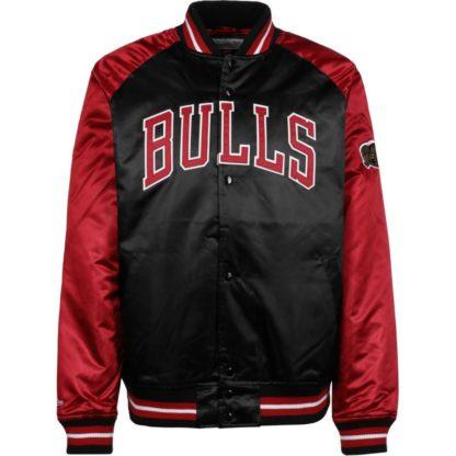 Chaqueta Mitchell & Ness Chicago Bulls Tough Season Satin Jacket