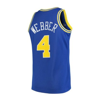 Golden State Warriors Webber Mitchell&Ness Swingman Jersey 1993-94