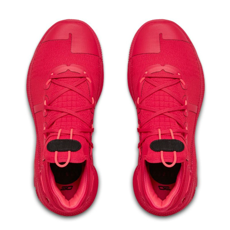 zapatos under armour curry rojo